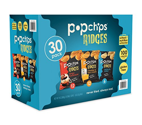 Popchips Single Serve Potato Ridges