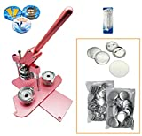 "ChiButtons (KIT)58mm2.25"") Pro Badge Machine Button Maker B400 + Mould + 100 Parts"