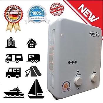 EZ 101 Tankless Water Heater - Propane LPG - Portable