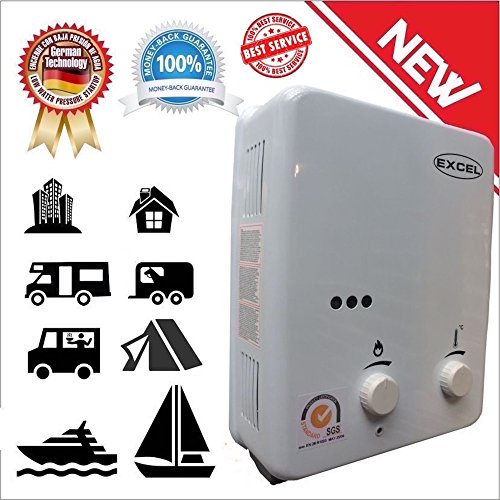TANKLESS GAS WATER HEATER (LOW PRESSURE STARTUP) 1.6 GPM LPG VENTFREE (PROPANE) (Ventfree Tankless Water Heater compare prices)