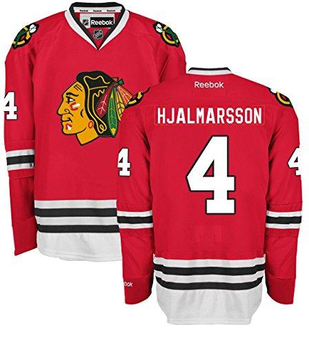 Niklas Hjalmarsson Chicago Blackhawks Home Red Premier Jersey by Reebok Select Size: XX-Large
