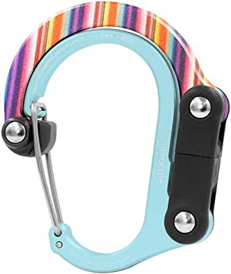 Heroclip Hybrid Gear Clip - Purse Hook Rotating Handbag Clip Womens Bag Hanger, Stroller hook Diaper Bags (Mini)