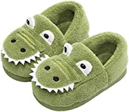 Efeng Toddler Boys Girls Slippers Winter Fluffy Little Kids Soft Warm Fur Lined House Slippers for Indoor Bedr