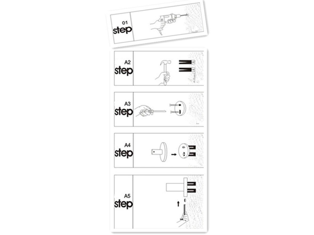 portarrollos papel higi/énico Retro Portarrollos de acero inoxidable ba/ño rollo soporte con estante para tel/éfono m/óvil//cuarto de ba/ño accesorios 5/colores tenthome antig/üedad 2/en 1
