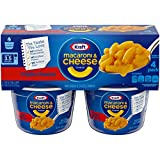 Kraft Macaroni & Cheese Easy Mac Triple Cheese (8.2oz Box , Pack of 4)