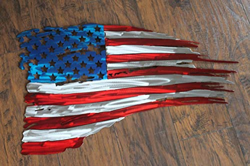(Tattered Flag USA)