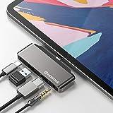 USB C Hub Adapter for 2018 2019 iPad Pro 12.9