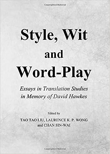 wordplay and translation essays on punning and translation