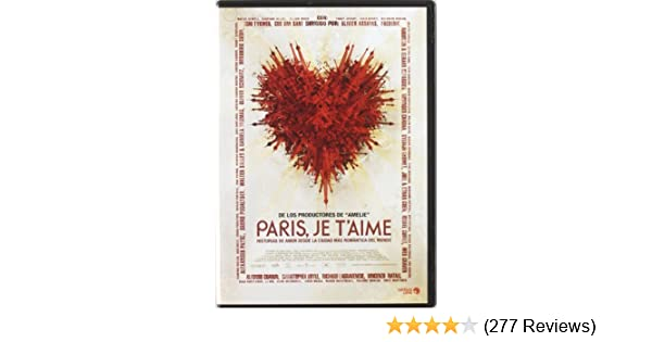 Amazon.com: Paris, Je TAime (Import Movie) (European Format - Zone 2) (2011) Juliette Binoche; Leonor Watling; Ludivin: Movies & TV