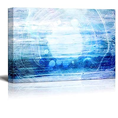 Abstract Blue Artwork
