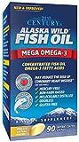 21st Century Alaska Wild Fish Oil Softgels 90 ea (Pack of 3)