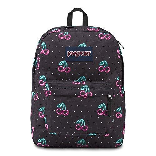 JanSport Superbreak Backpack - Neon Cherries - Classic, Ultralight