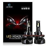 CAR ROVER H13 9008 LED Headlight Bulbs Conversion Kit 80W 9600Lm (40W 4,800Lm per bulb) Super Bright Lamp 6000K Cool Whitel Lights