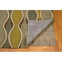 Linon Underlay-Premier Plush Area Rug, 10 x 14, Grey