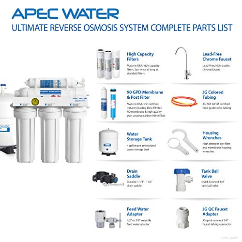 Apec Water Systems Ro 90 Ultimate Series Top Tier Supreme