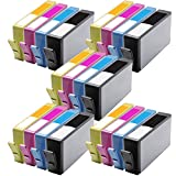 5 Packs of 4 MPC Direct® Replacement ink cartridges FOR 564XL (NEW VERSION) CN684WN CN685WN CN686WN CN687WN Combo Pack