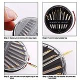 JollMono-60 Pack, Premium Sewing Needles for
