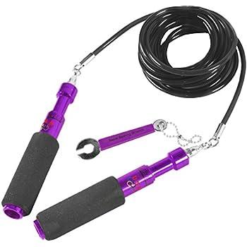 Buddy Lee Aero Speed Hyperformance Training Jump Rope - Purple
