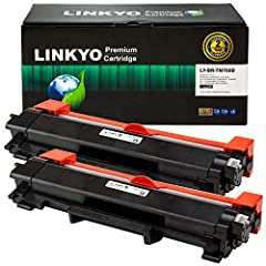 This LINKYO Replacement Toner Cartridge is compatible with printers that use the Brother TN760 TN-760 TN730 TN-730 toner cartridges         Please check the list below to ensure that these are the correct cartridges for you:       Bro...