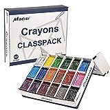 Madisi Crayon Classpack, Regular Size, 18