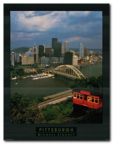Pittsburgh City in Pennsylvania Wall Decor Art Print Poster
