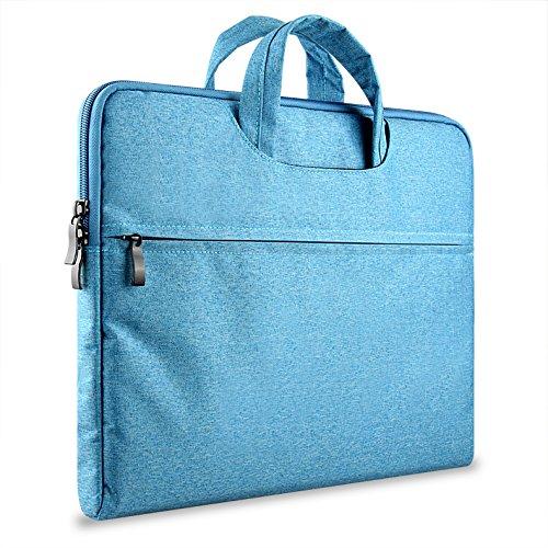 FuriGer 15 Inch Laptop Sleeve Case, 15-15.4 Inch Laptop Protective Case Bag 15 Inch Macbook/MacBook Pro Retina 15.4-inch MacBook/Laptop-Blue by FuriGer (Image #6)