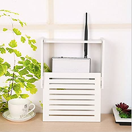 Nice Wifi Router Mensola A Parete Router Modem Router Scatola Rack Mount Kit  Supporto Per Personal Communication