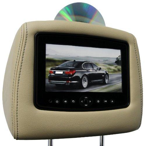 CarShow by Rosen CS-FDF1511-T51-S1 Single DVD Headrest Sy...