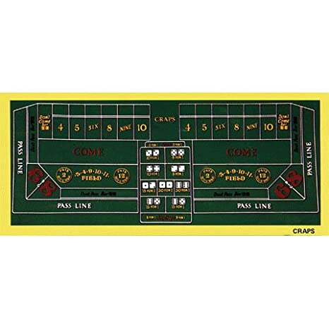 Incredible Las Vegas Craps Table Felt Layout Beutiful Home Inspiration Ommitmahrainfo