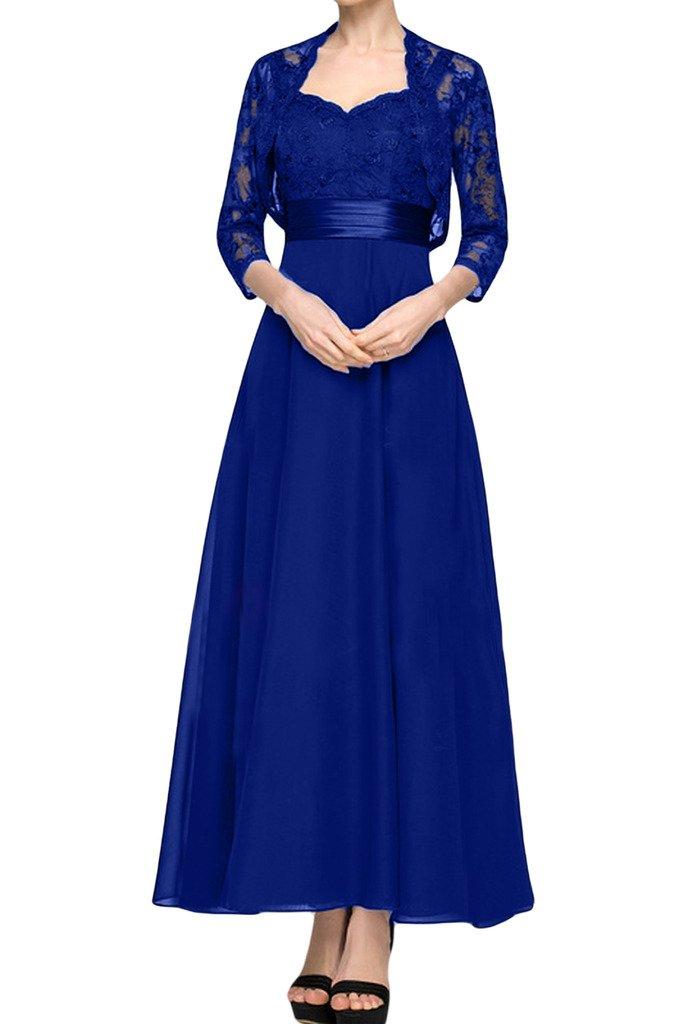 (ウィーン ブライド) Vienna Bride ロングドレス ママドレスドレス 結婚式母親ドレス 2点セット ボレロ付きカラー紺色 エレガント 披露宴 パーティー B01MDJQ44H 7|サファイアブルー サファイアブルー 7