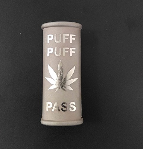 "BIC Lighter Cover Etched Metal ""Puff Puff"