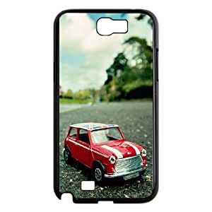 Toy Mini Cooper Car Closeup Samsung Galaxy N2 7100 Cell Phone Case Black toy pxf005_5794597