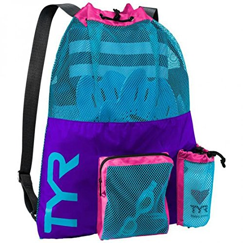 TYR Big Mesh Mummy Backpack (Purple/Blue)