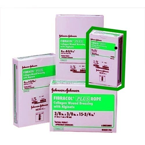 Fibracol Dressing Plus Collagen - FIBRACOL PLUS 2981 Collagen Wound Dressing with Alginate,  2