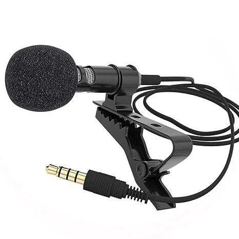 GHSUEBHL 1 PCS corbata móvil solapa para micrófono de voz ...