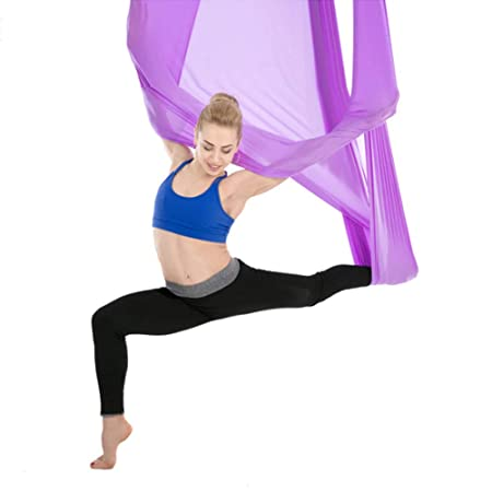 ZENWEN Yoga Hammock Aerial Stretch 2.8 Meter Yoga Gym ...