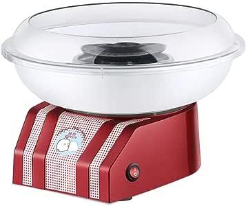 Popo Mini máquina eléctrica para Hacer Dulces de algodón Dulce Nostalgia DIY Máquina para Hacer azúcar de algodón de azúcar para niños Regalo para niños niños: Amazon.es