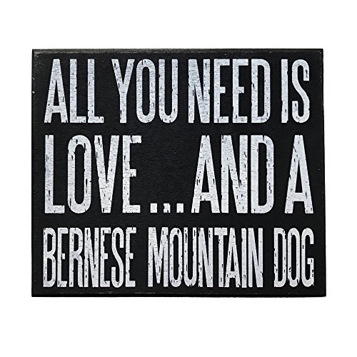 Mountain Dog Ornaments (JennyGems Bernese Mountain Dog Sign, All You Need is Love and A Bernese Mountain Dog, Bernese Mountain Dog Gifts, Bernese Mountain Dog Moms and Owners, Bernese Mountain Dog Quotes, Signs)