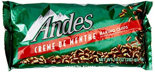 Chocolate Mint Creme (Andes Creme De Menthe Baking Chips, 10 oz)