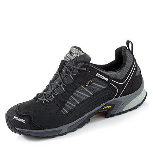 Meindl Men's Trail Outdoorschuhe Walking boots SX 1.1 GTX black-red Silver / Black