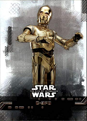 2019 Topps The Rise of Skywalker Series 1#23 C-3PO Official Motion Motion Picture Collectible Trading Card