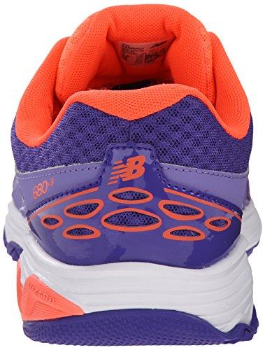 New Balance KR680 Youth Running Shoe (Little Kid/Big Kid) Purple/Orange