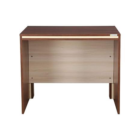 HomeTown HomeTown Merit Engineered Wood Office Table in Wenge Colour
