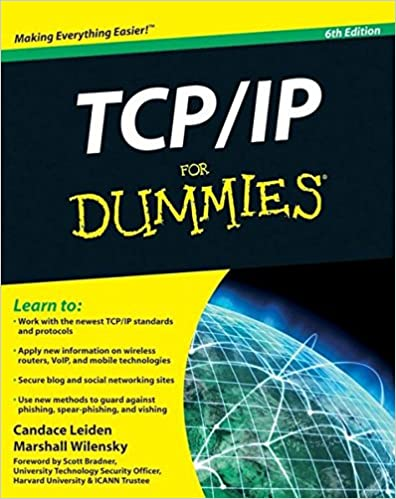TCP / IP For Dummies: Candace Leiden, Marshall Wilensky ...