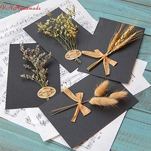 Dried-Flowers-40PCS-Artificial-Autumn-Wheat-Flower-Bouquet-Wreath-Fake-Flowers-DIY-ScrapbookingHome-GardenWedding-Party-Decoration