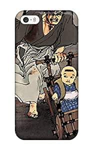 New Style 1708593K70155395 Lone Wolf & Cub Flip Case With Fashion Design Case For Sam Sung Note 3 Cover