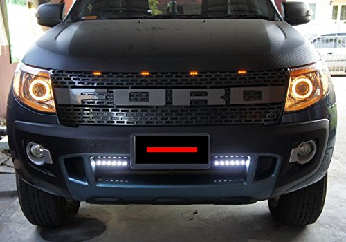 complete raptor black lit grille grill px ute pickup ford. Black Bedroom Furniture Sets. Home Design Ideas