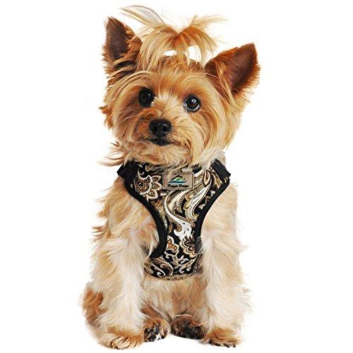 DOGGIE DESIGN, Wrap and Snap, Choke Free Dog Harness - Island Tan - Small ()