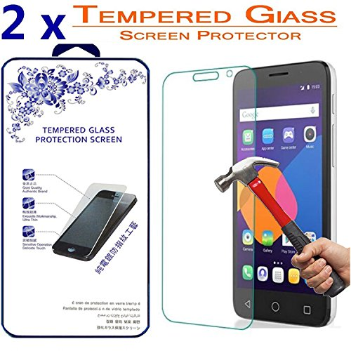 Tempered Glass Screen Protector for Alcatel Pop 3 5.0 - 3
