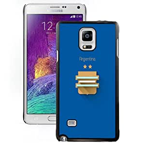 Fashion DIY Custom Designed Samsung Galaxy Note 4 Phone Case For FIFA World Cup Argentina Phone Case Cover